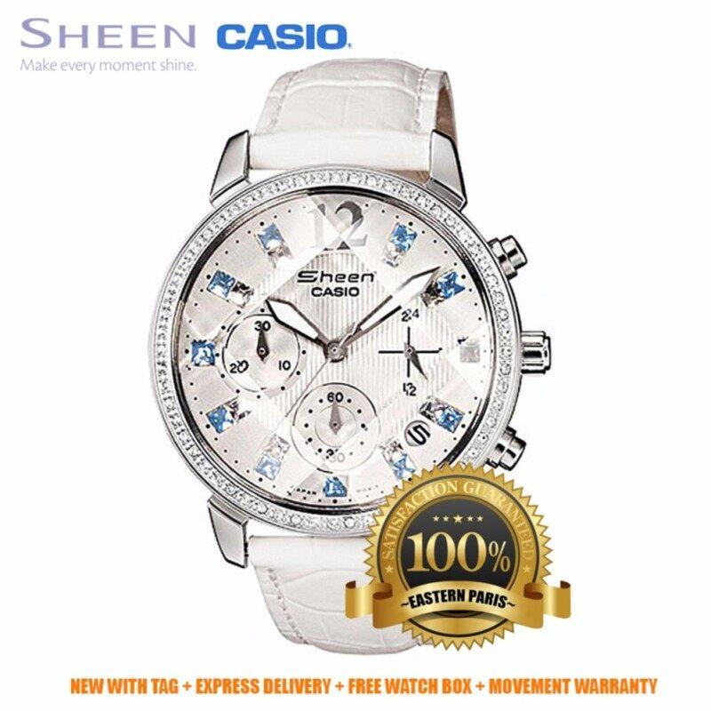Casio Sheen SHN-5011L-7A White (IMPORTED) Malaysia