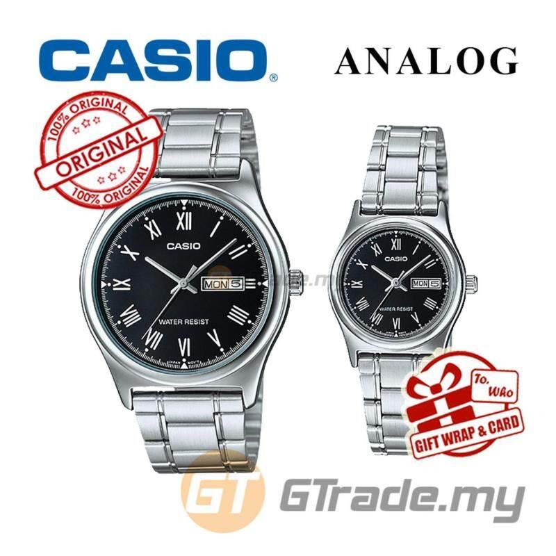 CASIO STANDARD MTP-V006D-1BV & LTP-V006D-1BV Analog Couple Watch Malaysia