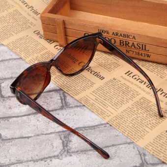 ... Classic Cat Eye Fashion Sunglasses UV400 Leopard - 4 ...