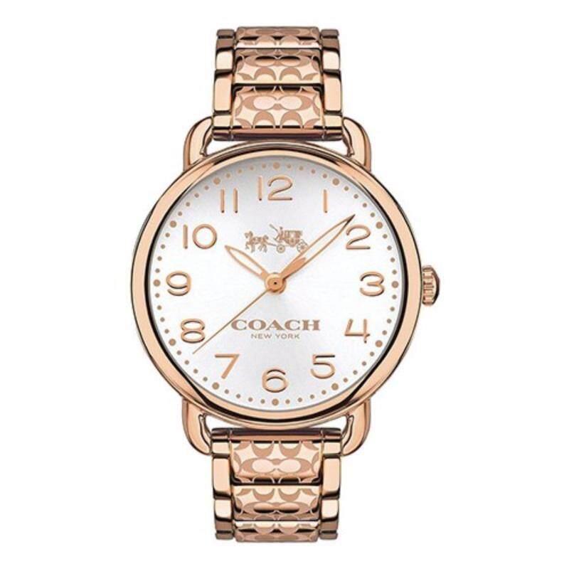 Coach Womens Delancey Rose Gold tone Bracelet Watch 14502497 Malaysia