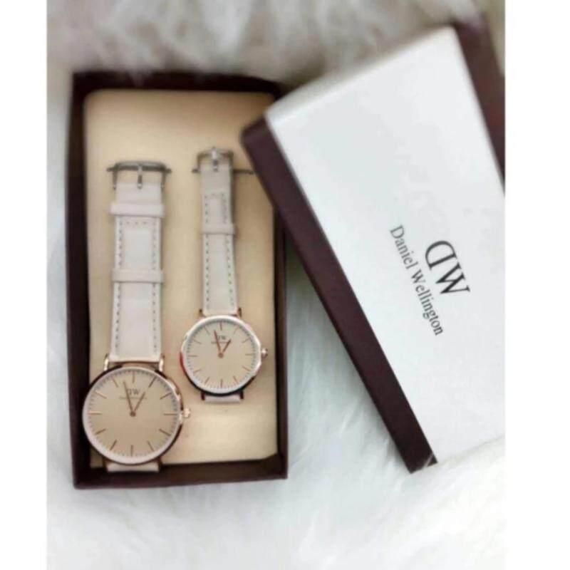 Cream Strap with Cream Dial (Gold Lug) Couple Watch Malaysia