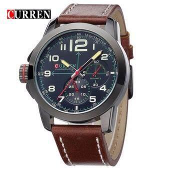 CURREN 8182 sport army watch - Black Brown