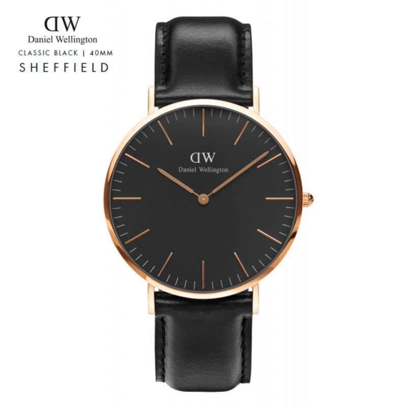 Daniel Wellington Classic Black 40mm | Sheffield ( Rose Gold ) Malaysia
