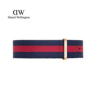 Harga Daniel Wellington Classic Nato Watch Band 20mm - [ Classic Oxford ]Rose Gold