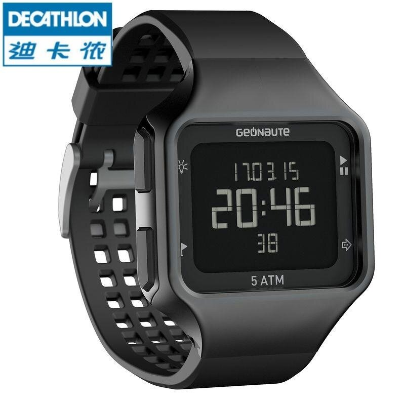 Deca thlon Sports Watch and Digital Students Can Change the Electronic Luminous Watch Strap Waterproof Table GEONAUTE K Malaysia