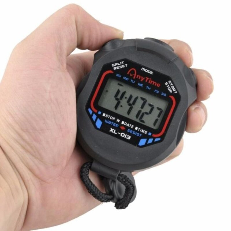 Digital Professional Handheld LCD Chronograph Sports Stopwatch Timer Stop Watch Malaysia