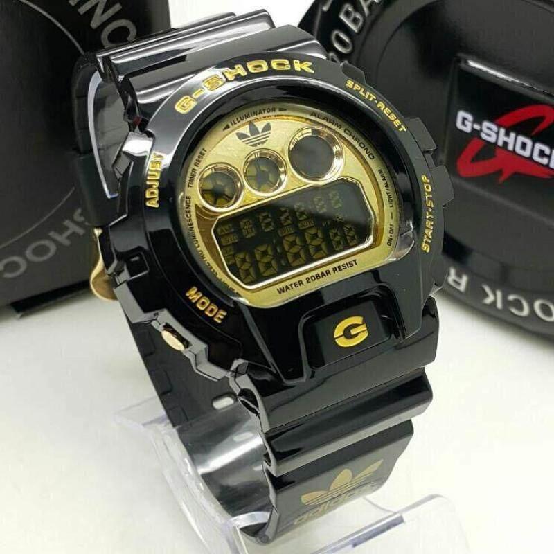 DW6900 Men& Women Watch Gred AAA Adidas Black Gold Malaysia