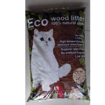 Harga ECO Natural Pine Wood Cat litter 20 LB