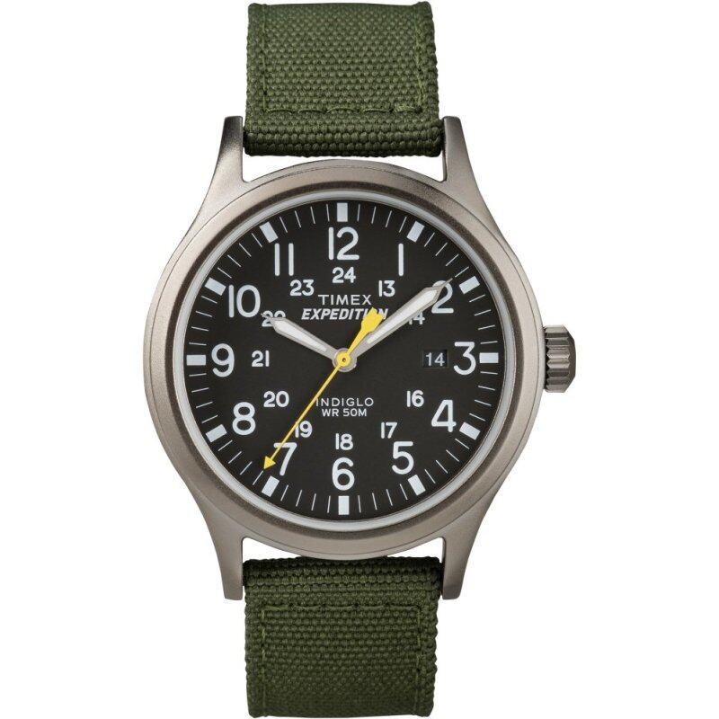 Expedition-Analog Elevated Field Metal Analog Elevated Exped Metal Scout Green Nylon Strap Malaysia