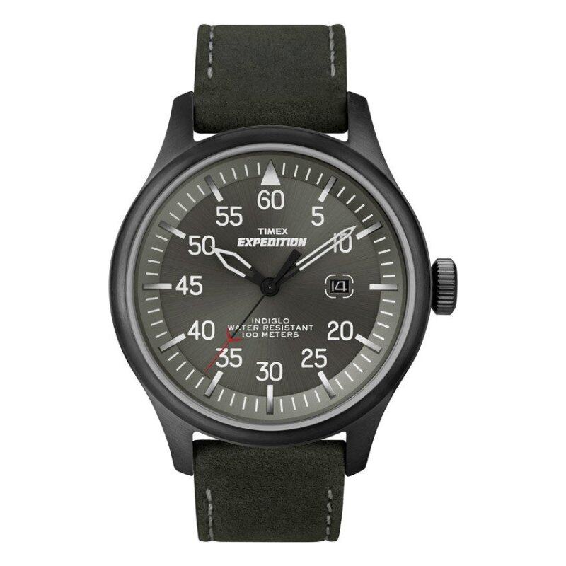 Expedition-Analog Elevated Field Metal Military Military Field Sst Blk Lth Malaysia
