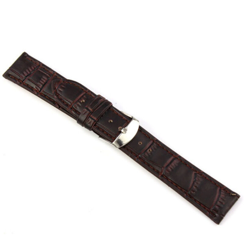 Fang Fang Leather Strap Wrist Watch Band 18mm (Brown) Malaysia