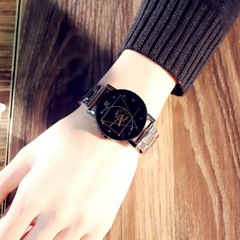 Fashion Lovers watch Stainless Steel Luxury Design Quartz Wrist Watch Unisex Malaysia