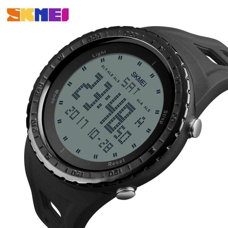 Fashion Military Watches SKMEI Brand Men Sport Watch LED Digital 50M Waterproof Swim Dress Sports Outdoor Wristwatch 1246# Malaysia