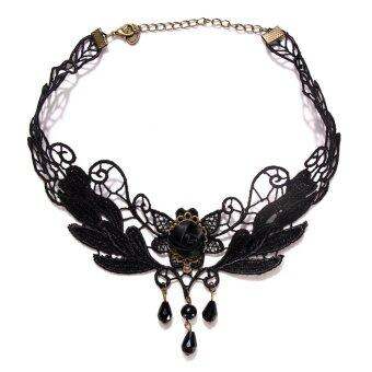 fashion party lace necklace pendants jewelry halloween supplies - Halloween Supplies