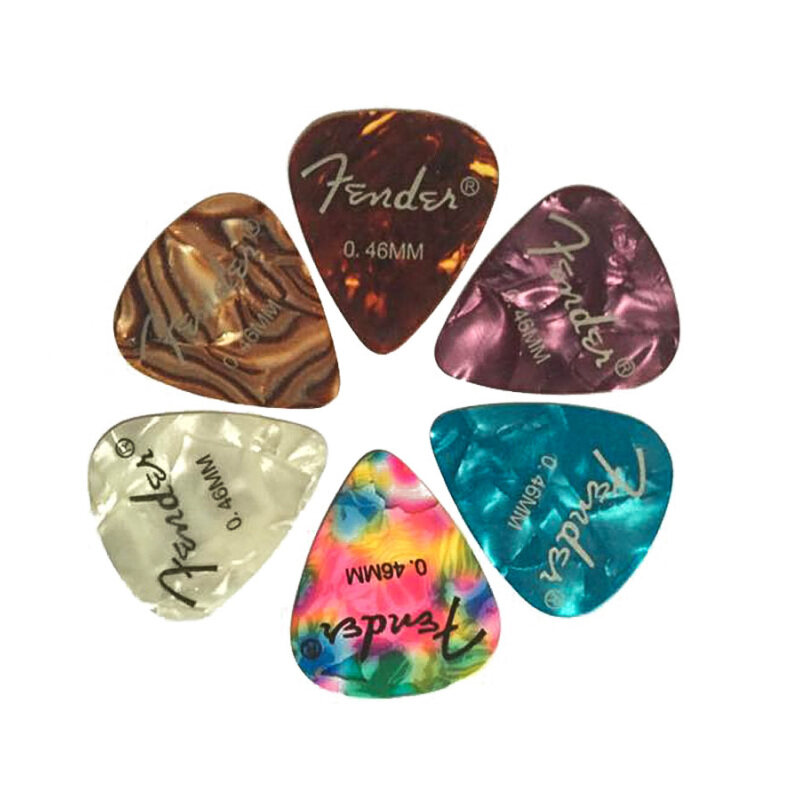 FASHION TEE Acoustic Electric Guitar Picks Plectrums with 0.46mm High Quality 6pcs Malaysia