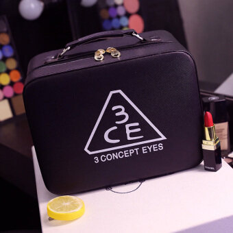 Folding high-grade large capacity makeup products Korean-stylemakeup box bag