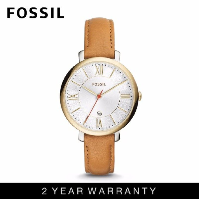 Fossil ES3737 Womens Jacqueline Tan Leather Watch Malaysia