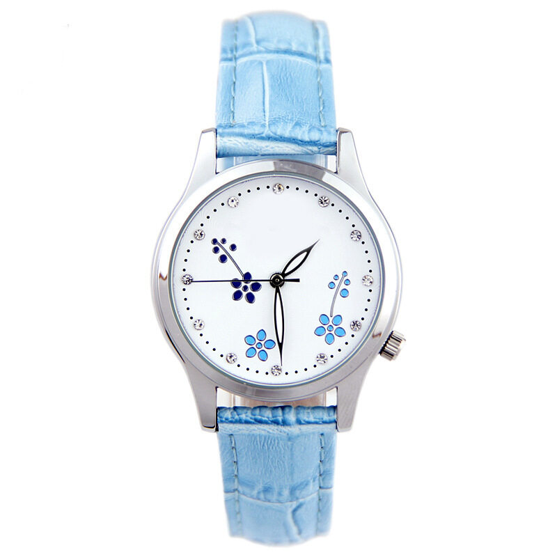Four point shaped diamond Pakistan pastoral style small time stamp quartz watch gift watch dial Malaysia