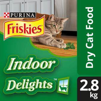 FRISKIES(R) Indoor Delights(TM) Dry Cat Food Pack (Pack of 2.8kg)