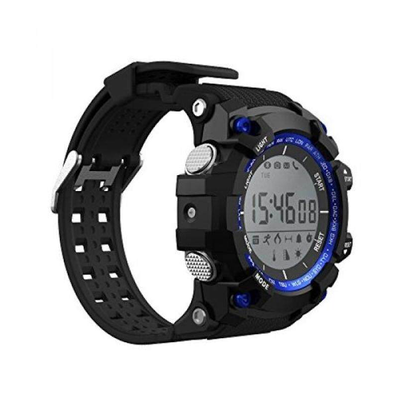 From USA GAMMA F2 Smart watches Sport waterproof Bluetooth Long time standby Smart reminder (Blue) Malaysia