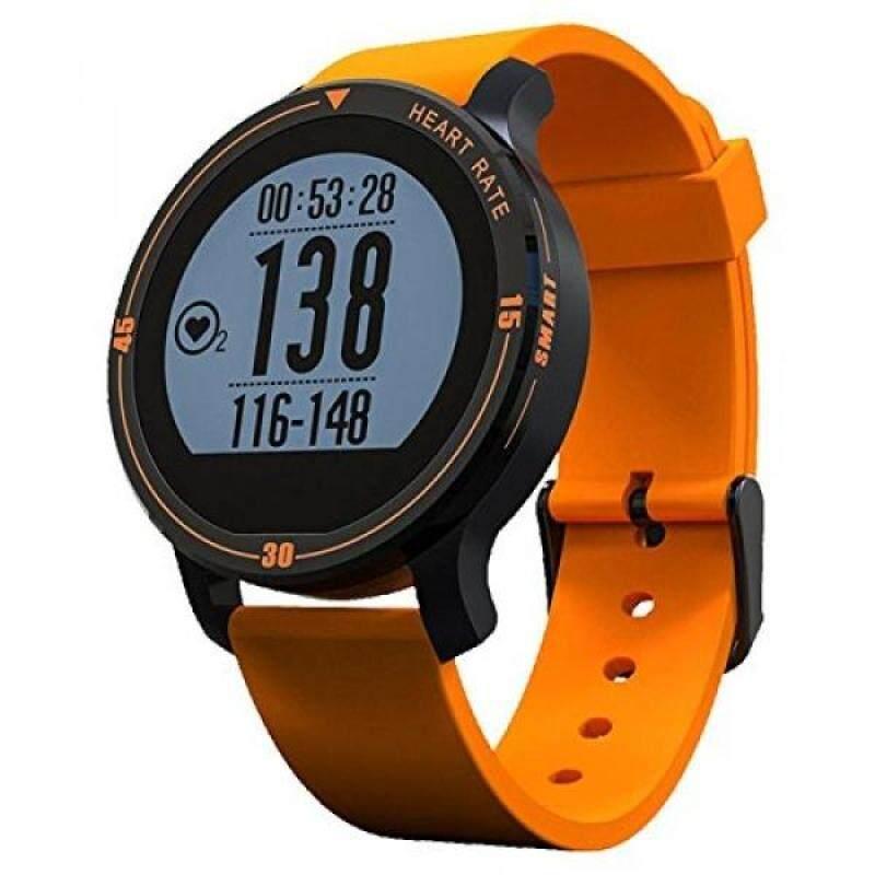 From USA KOBWA IP67 Waterproof Bluetooth 4.0 S200 Aerobic Sport Smartwatch Bracelet, Aluminum Alloy Finishing Fitness Wristwatch Designed Specifically for Sports! (Orange) Malaysia