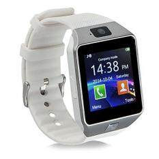 From USA Padgene DZ09 Bluetooth Smart Watch with Camera for Samsung S5 / Note 2 / 3 / 4, Nexus 6, Htc, Sony and Other Android Smartphones, White Malaysia
