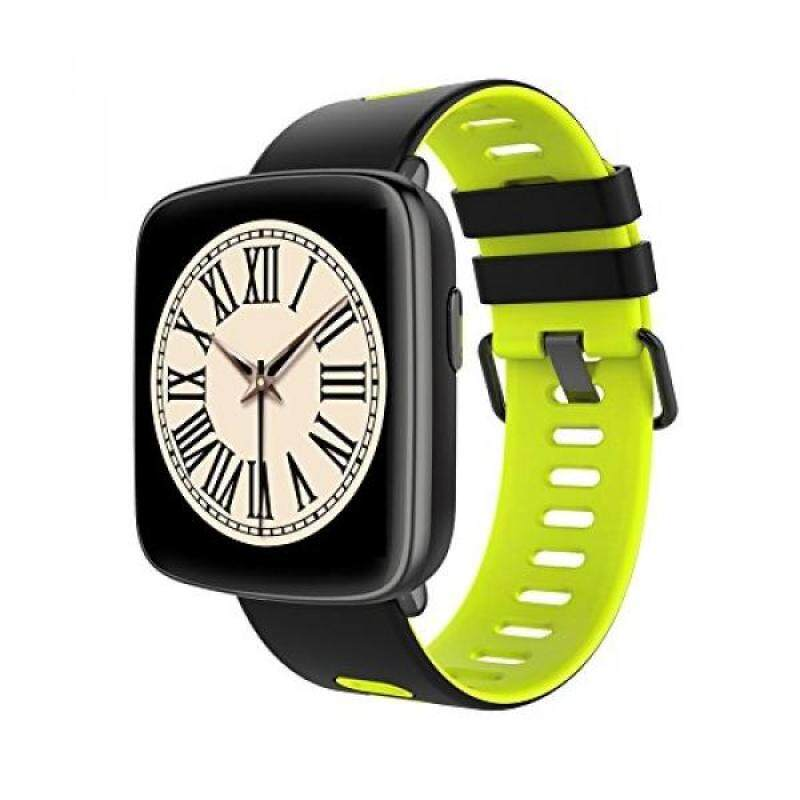 From USA Paikeshi Bluetooth Smartwatch Phone,Fitness Tracker IP68 Waterproof Fashion Sports Wristwatch, Pedometer 1.54 Inch Touch Screen Accurate Dynamic Heart Rate Monitoring (Black/Yellow) Malaysia