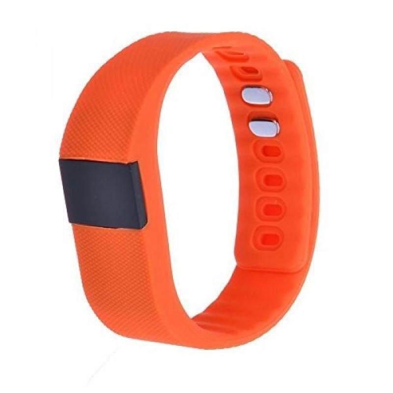 From USA SURMOS Smart Sport Bracelet TW64 Smartband Wristband Fitness Tracker Bluetooth 4.0 Time Display Flexible Watch Bracelet (Orange) Malaysia