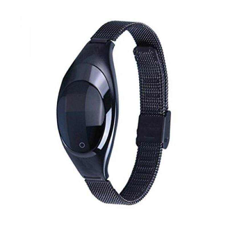 From USA Women Fashion Smart Watch,ZIMINGU 2017 New Smart Bracelet Z18 with Blood Pressure Measure Heart Rate Monitor Pedometer IP67 Waterproof Bluetooth Wristband for Android and IOS (Black) Malaysia