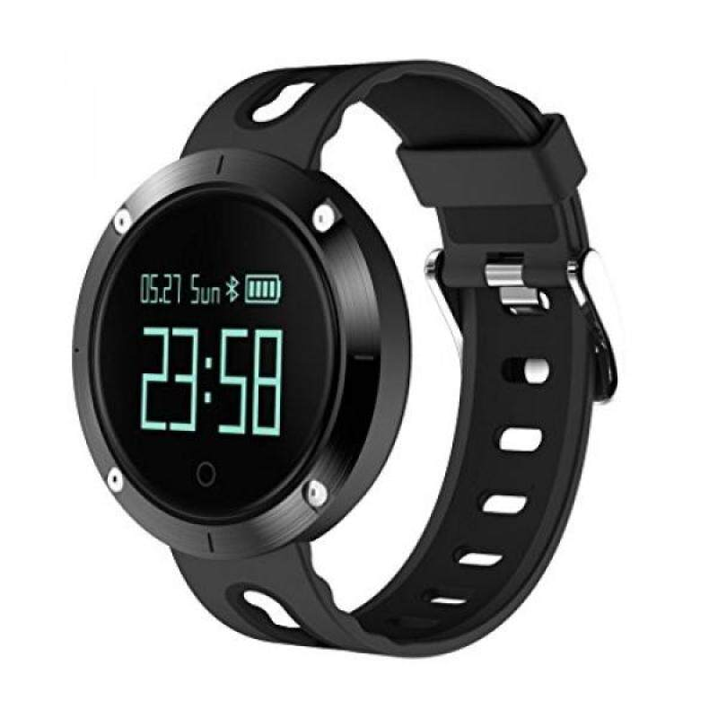 From USA ZIMINGU Smart Watch Heart Rate IP68 Waterproof Bluetooth Sports Smart Bracelet Fitness Tracker with Sleep Blood Pressure Monitor for Android Phone and iPhone (Black) Malaysia