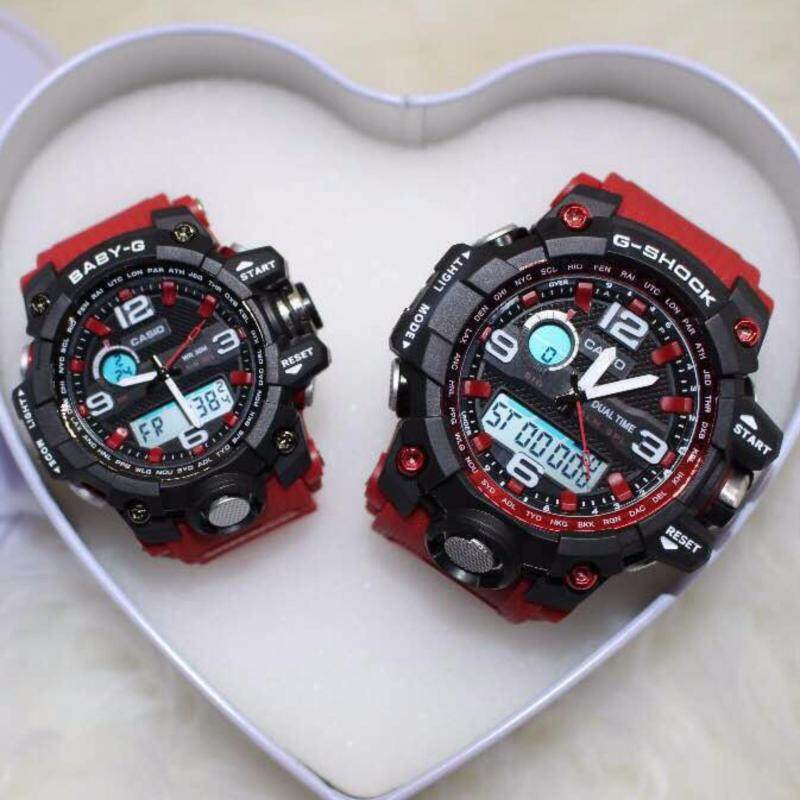 G SHOCK X BABY G COUPLE WATCH (RED) Malaysia