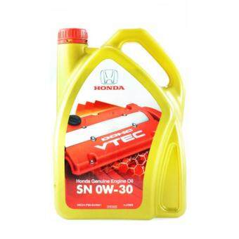 Harga GENIUNE HONDA ENGINE OIL FULLY SYNTHETIC SN 0W-30 4L
