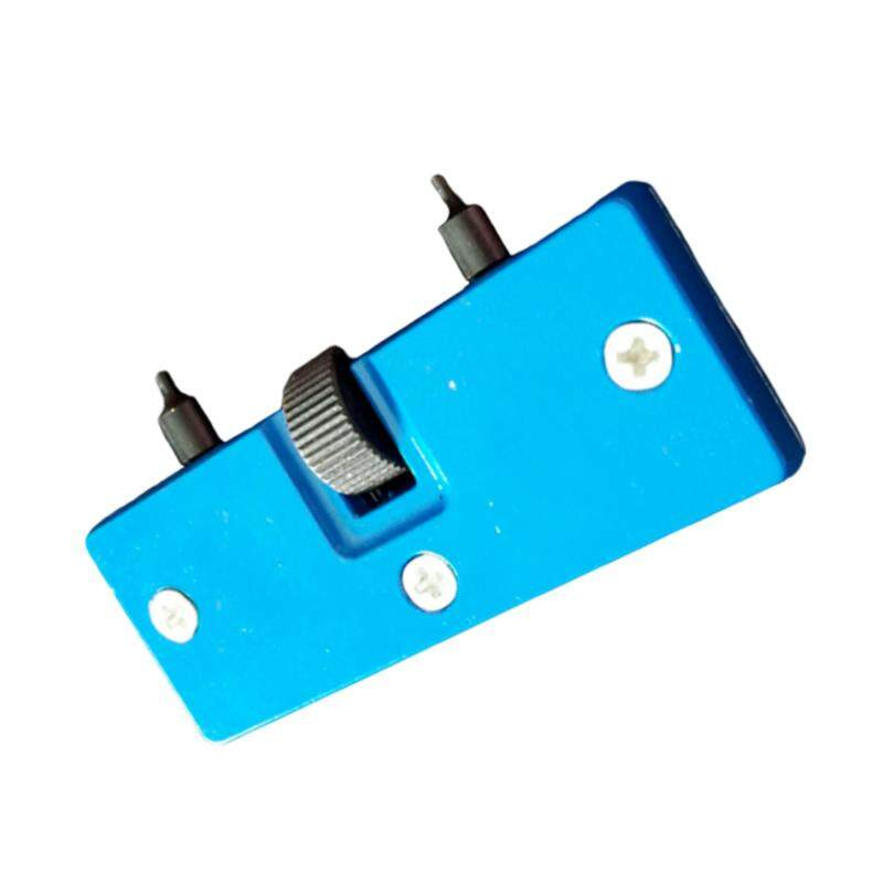HengSong Watch Adjustable Two Claws Opener Watches Back Case Remover Tool Repair Watchmaker Tool- Flat Mouth(Blue) Malaysia