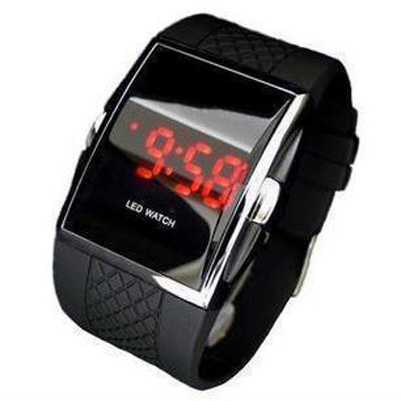 Hequ Mens Man Luxury Date Digital Sport Led Watch (Black) Malaysia
