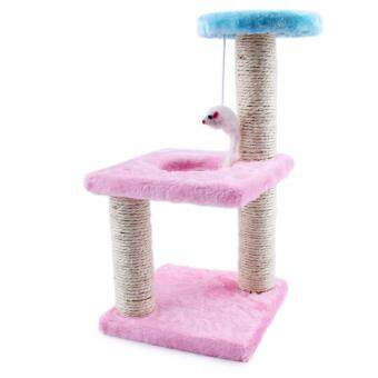 High Quality Kitten Cat Tree And Condo Scratching Scratcher Climbing