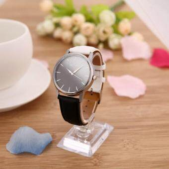 Harga High Qualiy!Gradient Color Leather Canvas Watch Quartz Sweet Girl'sWrist Watches Personality Casual Writwatch