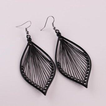 Hoop Bohemian style earrings Fashion Earrings Three Wire TwistedBrand Earring