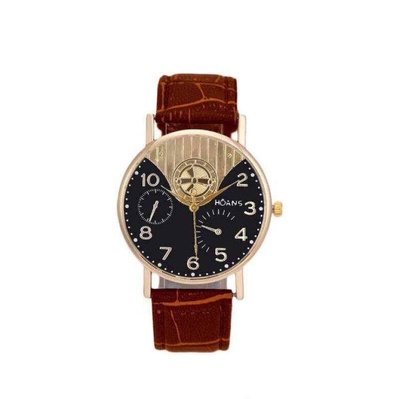 Hot Sale!Unisex Band Analog Quartz Business Wrist Watch CO Malaysia