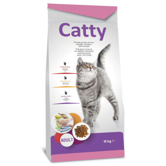 Harga Molly Catty Cat Adult Chicken 15kg