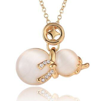 Harga 24K Golden Snowman Necklace