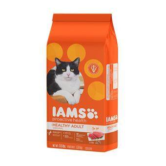 Harga IAMS Proactive Health Healthy Adult Original With Tuna 7LBS.