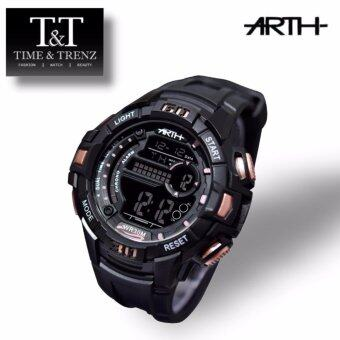 Harga Time&Trenz ARTH 2030 High Quality Unisex Sporty Water Resistance Watch