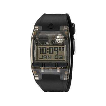 Harga Nixon Watch Comp Black Plastic Case Rubber Strap Unisex NWT + Warranty A408001