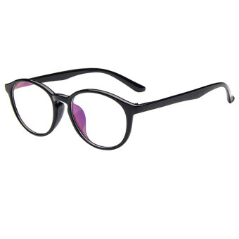 Harga Fashion Trendy Vintage Designer Clear Lens Nerd Geek Glasses Eyeglasses Eyewears Black