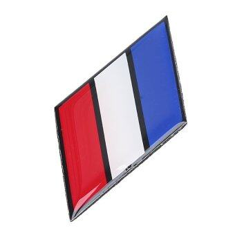 Harga Car Stuyling Emblem Sticker Glue Decal Ensign Bumper France French National Flag
