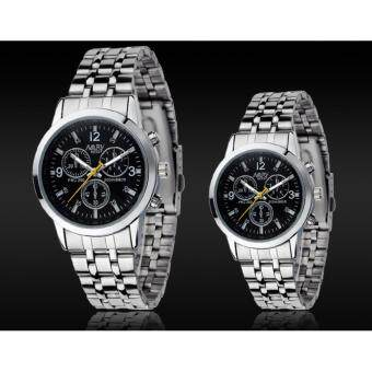 Harga Nary Stainless Steel Couple Watches