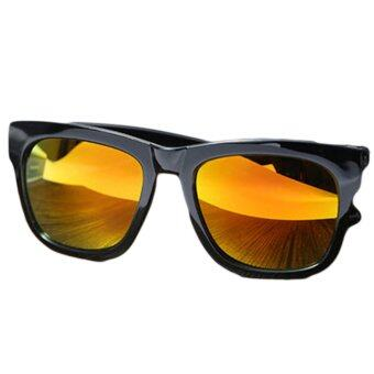 Harga J964 Polarised Wayfarer-Style Sunglasses - Orange Lens