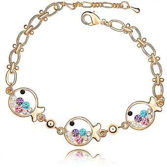 Harga LOVENGIFTS Swarovski Little Fish Bracelet (Multi)