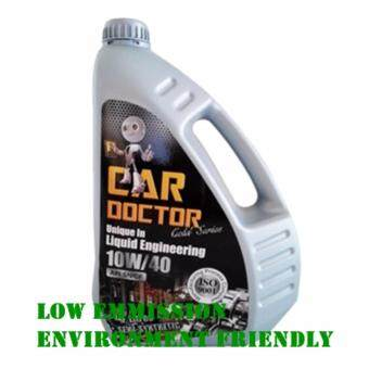 Harga PREMIUM ENGINE OIL CAR DOCTOR SEMI SYNTHETIC 10W/40 WITH M.T.F