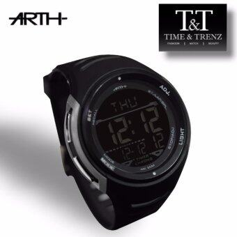 Harga Time&Trenz ARTH 2002 High Quality Unisex Sporty Water Resistance Watch